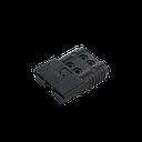 BATEKO - wtyczka/gniazdo SB 50A 16mm² 80V czarna - sklep internetowy