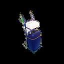 BATEKO - zbiornik wody 60l z wózkiem, pompą i pistoletem (elek. 12V) - sklep internetowy